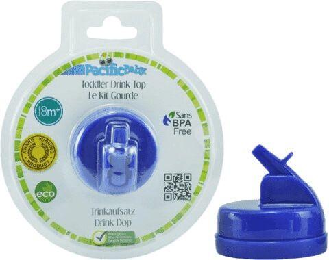 Plastikowy składany ustnik do butelki Pacific Baby niebieski