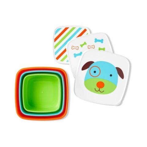 pudełka na przekąski dla dziecka skip hop