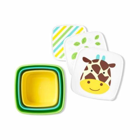 pudełka z pokrywkami na jedzenie skip hop