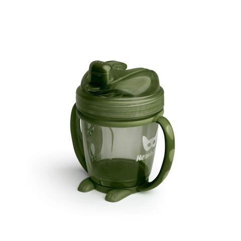 Herobility – kubek niekapek HeroSippy 140 ml zielony