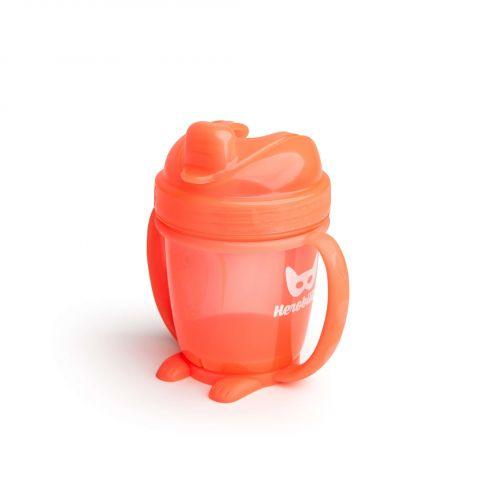 Herobility – kubek niekapek HeroSippy 140 ml pomarańczowy