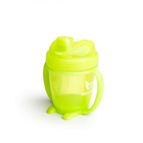Herobility – kubek niekapek HeroSippy 140 ml żółty