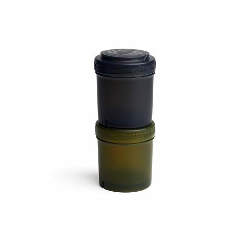 Herobility - pojemnik 2x100 ml czarny/zielony 2szt.