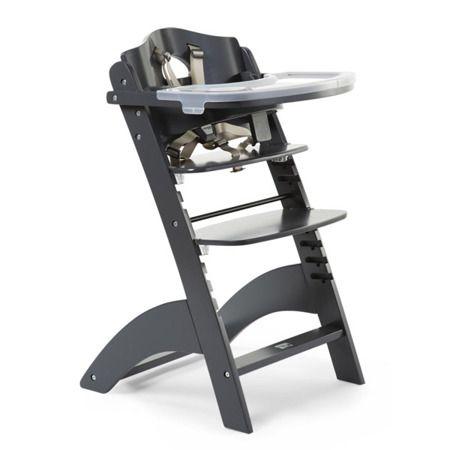 Krzesełko Lambda 3 w kolorze antracytowym