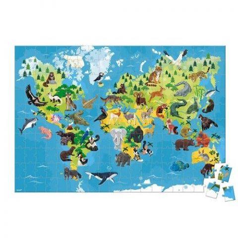 Puzzle 3d zagrożone gatunki