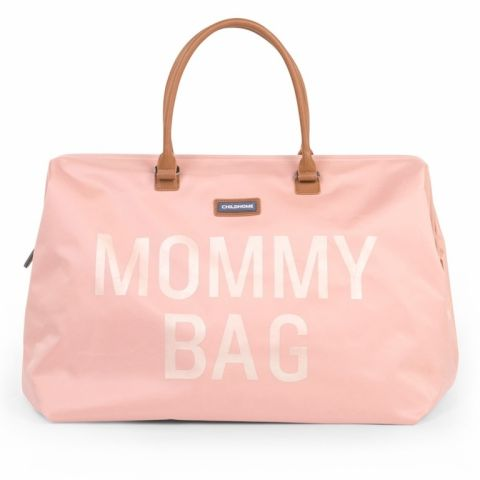 Childhome Torba Mommy Bag Różowa