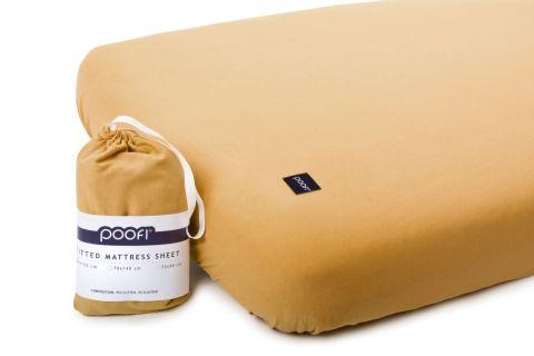 Wyjątkowy miękki materiał prześcieradeł Poofi wpływ na komfort snu maluszka. Prześcieradło z gumką wysokiej jakości to bardzo praktyczne rozwiązanie.