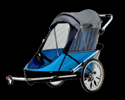 przyczepka rowerowa dla dzieci niepełnosprawnych WIKE Large