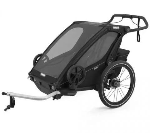 Przyczepka rowerowa Thule Chariot Sport 2 Midnight Black
