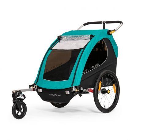 przyczepka rowerowa Burley X Encore dla dzieci