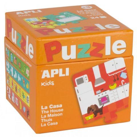 Apli Kids Puzzle dla dzieci W domu 3+