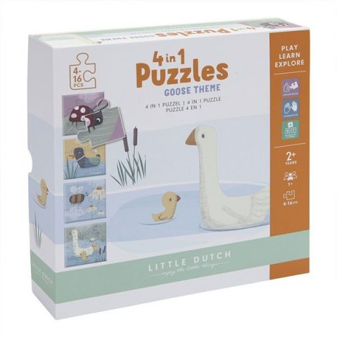 puzzle dla dziecka little dutch