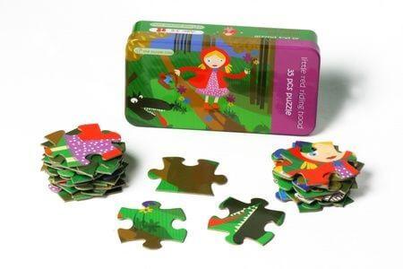 Puzzle The Purple Cow - Czerwony Kapturek 35 el.