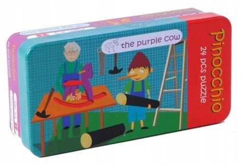 Puzzle The Purple Cow - Pinokio 24 elementy