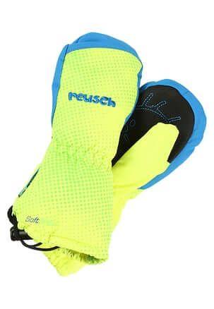 REUSCH rękawice MAXI neon yellow brill. blue III