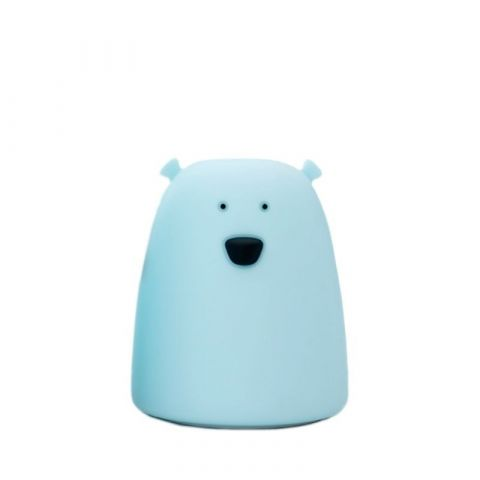 Rabbit&Friends Animal Light Lampka Miś Mały Niebieski