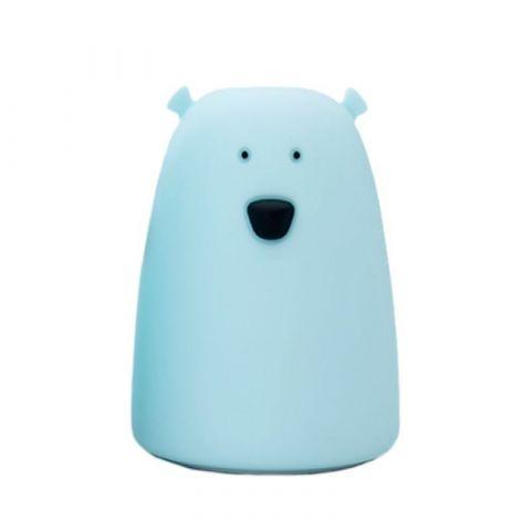 Rabbit&Friends Animal Light Lampka Miś Duży Niebieski