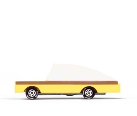 drewniane autko candycar