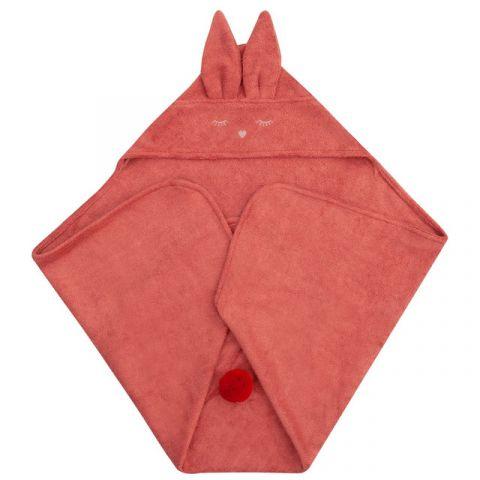 ręcznik frotowy dla niemowlaka z uszkami  samiboo
