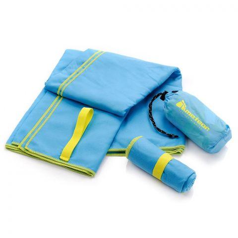 Ręcznik z microfibry Meteor S 42x55 niebieski