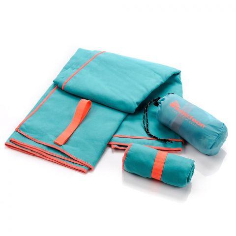 Ręcznik z microfibry Meteor S 42x55 turkusowy