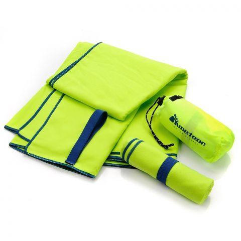 Ręcznik z microfibry Meteor S 42x55 zielony