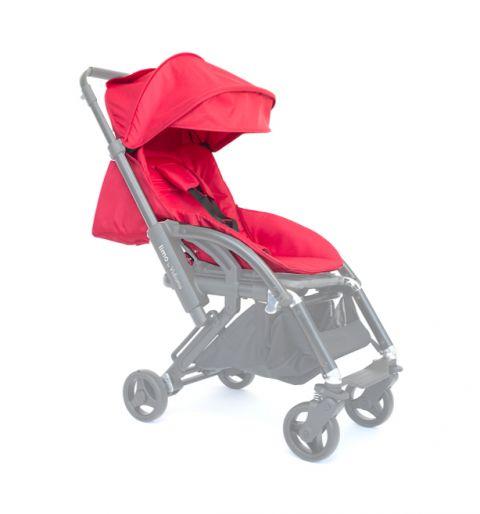 Vidiamo Zestaw tapicerek do wózka Limo Berry Red