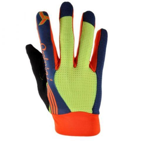 Silvini rękawiczki rowerowe dla dziecka Cervo navy-orange 11-12
