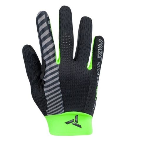 Silvini rękawiczki na rower Cervo Full finger Black-green
