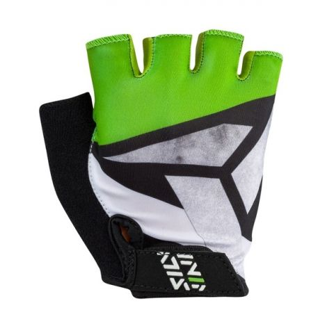 Rękawiczki dla dzieci Silvini OSE zielono-czarne