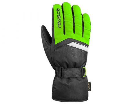 REUSCH rękawice BOLT palce green black 4