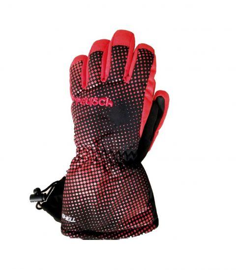 REUSCH rękawice MAXI black fire red III