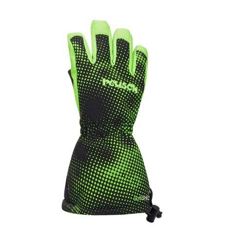 REUSCH rękawice MAXI black neon green III
