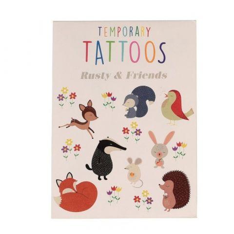 Rex London Tatuaże zmywalne dla dzieci Przyjaciele