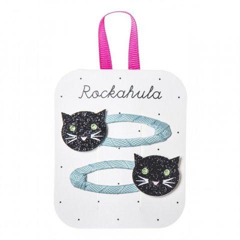 Rockahula Kids spinki do włosów Black Cats