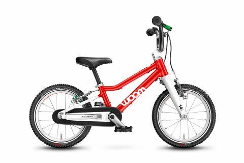 Najlżejszy rower dziecięcy Woom 1 Czerwony
