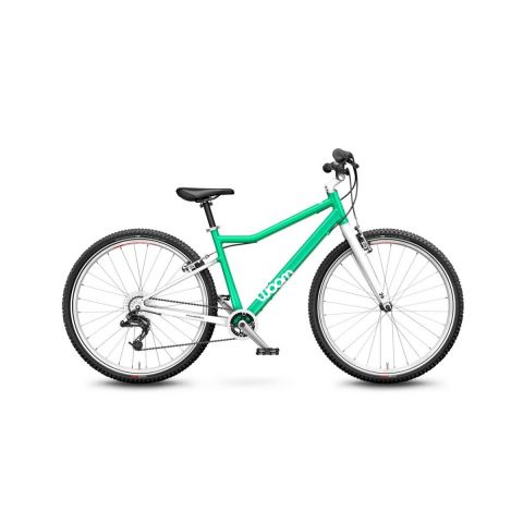 Lekki rower dziecięcy 26 cali Woom 6 Miętowy