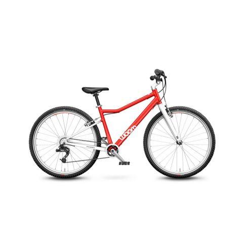 Lekki rower dziecięcy 26 cali Woom 6 Czerwony