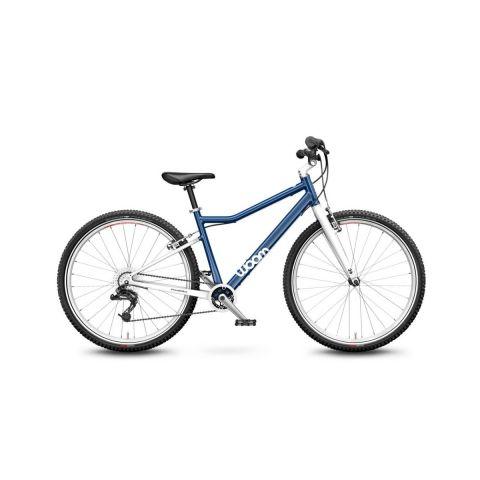 Lekki rower dziecięcy 26 cali Woom 6 Niebieski