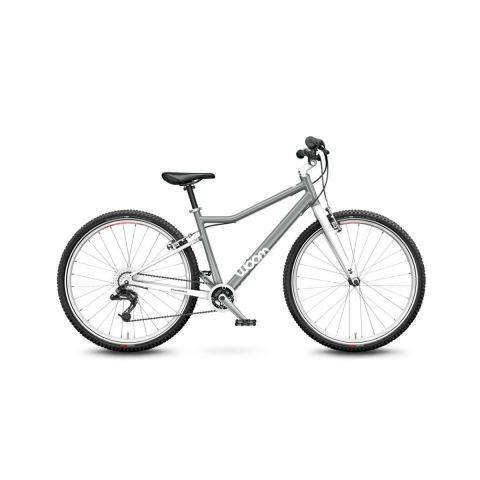 Lekki rower dziecięcy 26 cali Woom 6 Szary