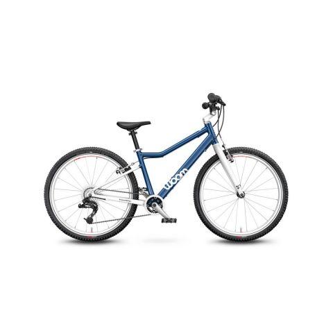 Rower 24 calowy Woom 5 niebieski