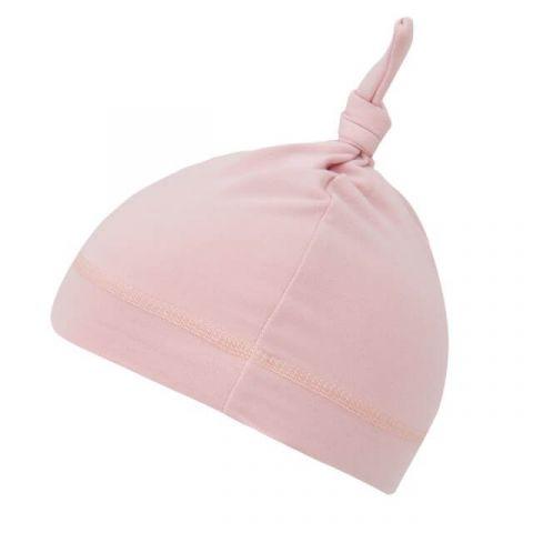 Samiboo Bambusowa czapeczka różowa 3-9 supełek