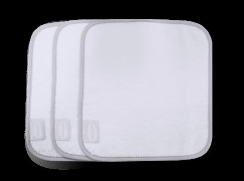 Shnuggle myjka biała do kąpieli maluszka zestaw 3 szt.
