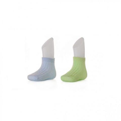 XKKO socks 24-36 miesięcy 2szt. Pastels for Boys