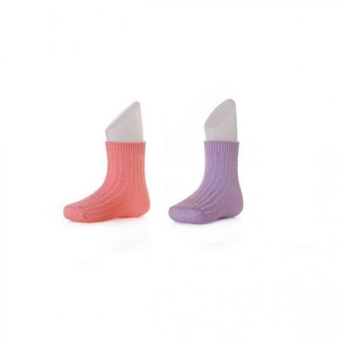 XKKO socks 24-36 miesięcy 2szt. Pastels for Girls