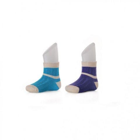 XKKO socks 24-36 miesięcy 2szt. Stripes for Boys