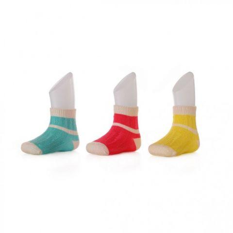 XKKO socks 12-24 miesięcy stripes for girls