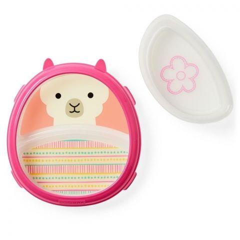 Skip Hop - Miska i talerzyk dla dziewczynki Zoo Lama