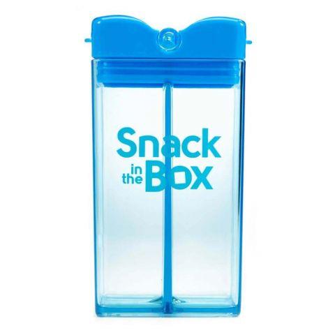 DRINK IN THE BOX pojemnik snack niebieski 350 ml