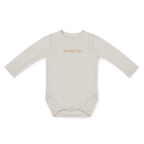 Body dla niemowlaka beżowe 6m+